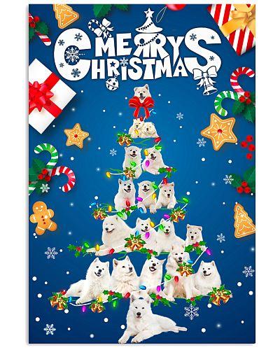 Samoyed-Merry Christmas