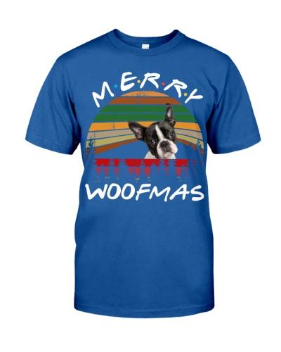Boston Terrier-Merry Woofmas