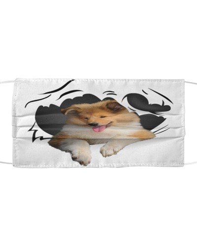 Rough Collie-Face Mask-Torn07