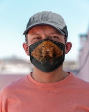 Vizsla-Hole Crack Cloth face mask aos-face-mask-lifestyle-06