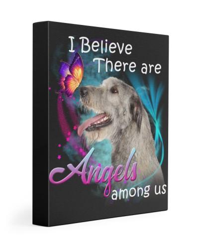 Irish Wolfhound-Canvas Angels