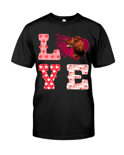 Irish Setter-Love-Valentine