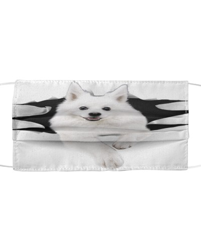 American Eskimo-Face Mask-Torn03