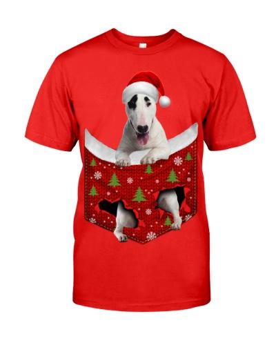 Bull Terrier-Xmas-Pocket