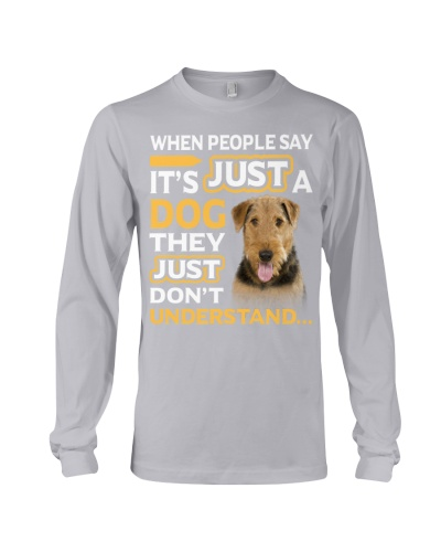 Airedale Terrier-They Don't Understand