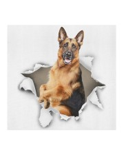 German Shepherd-Face Mask-Torn02 Cloth face mask aos-face-mask-coverlet-lifestyle-front-02