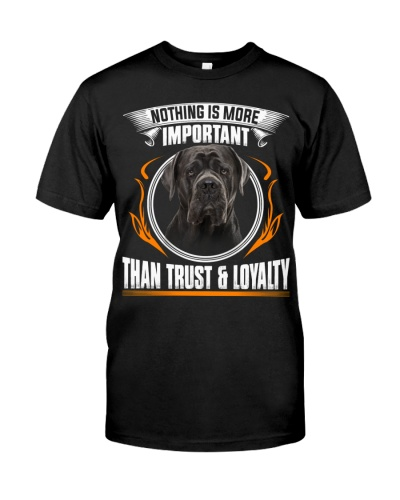Cane Corso-Trust And Loyalty
