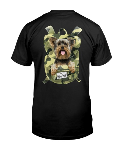Yorkshire Terrier-Camo-Backpack
