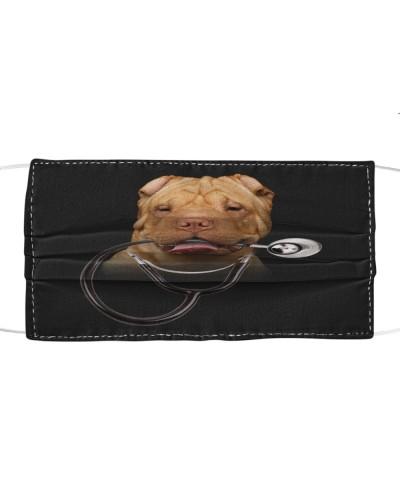 Shar Pei-Face Mask-Stethos