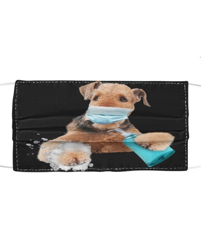 Airedale Terrier-Face Mask-Wash