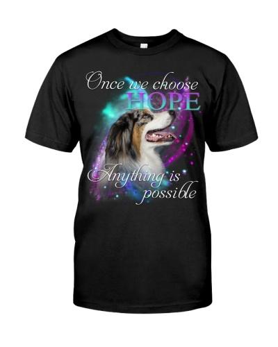 Australian Shepherd-Choose Hope