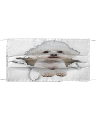Bichon Frise-Face Mask-Torn02