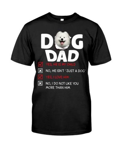 Samoyed-Dog Dad