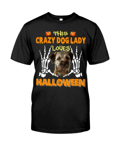Border Terrier-Loves Halloween