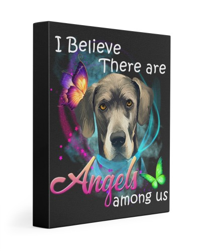 Great Dane-Art-Canvas Angels