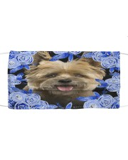 Cairn Terrier-Blue Mask Cloth face mask front
