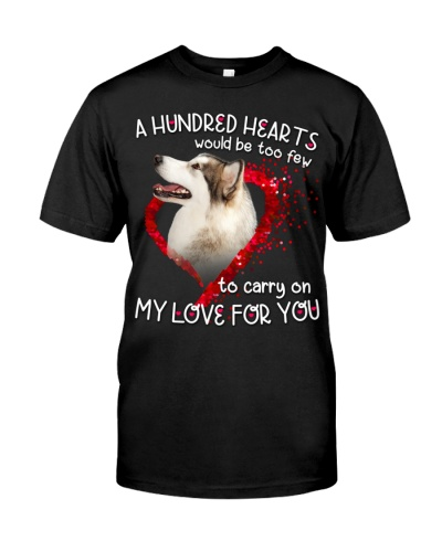 Alaskan Malamute-Hundred Hearts