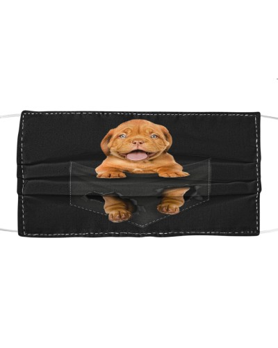 Dogue De Bordeaux-Face Mask-Pocket