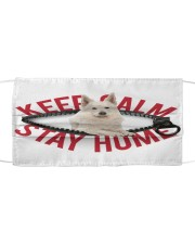 Berger Blanc Suisse-Mask-Stay Home Cloth face mask front