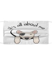 Bull Terrier-All About Me Cloth face mask front