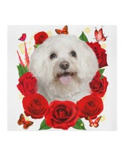 Bichon Frise-Face Mask-Rose Cloth face mask aos-face-mask-coverlet-lifestyle-front-02