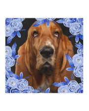 Basset Hound-Blue Mask Cloth face mask aos-face-mask-coverlet-lifestyle-front-02