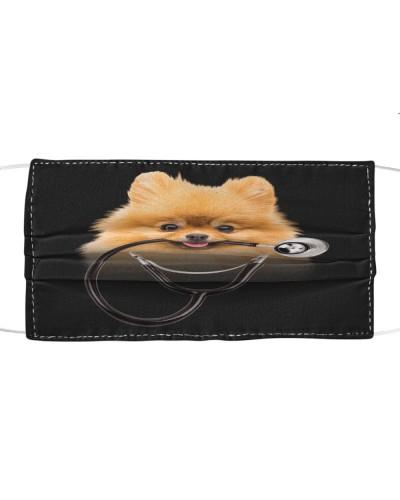 Pomeranian-Face Mask-Stethos