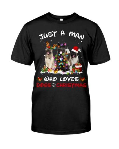 Akita-Man-Christmas