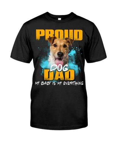 Wire Fox Terrier-Proud Dog Dad