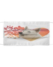 Berger Blanc Suisse-My Life-Mask Cloth face mask front