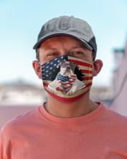 American Bulldog-US Mask Cloth face mask aos-face-mask-lifestyle-06