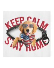 Golden Retriever-US-Keep Calm Cloth face mask aos-face-mask-coverlet-lifestyle-front-02