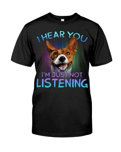 Basenji-I Hear You