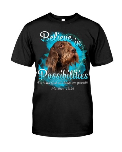 German Wirehaired Pointer-Believe In