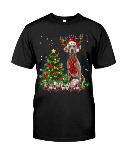 Weimaraner-Reindeer