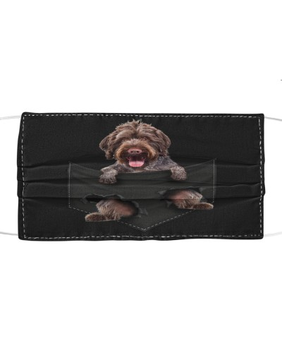 German Wirehaired Pointer-Face Mask-Pocket