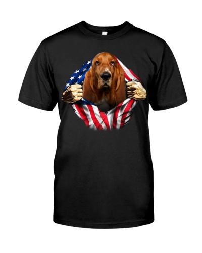 Basset Hound-Dog Flag