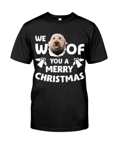 Goldendoodle-Merry Xmas
