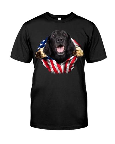 Flat Coated Retriever-Dog Flag