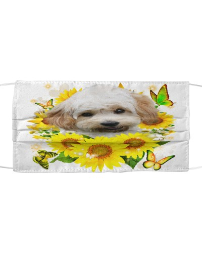 Cavachon-Face Mask-Sunflower