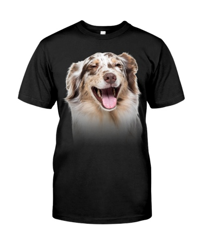 Australian Shepherd - Only Face