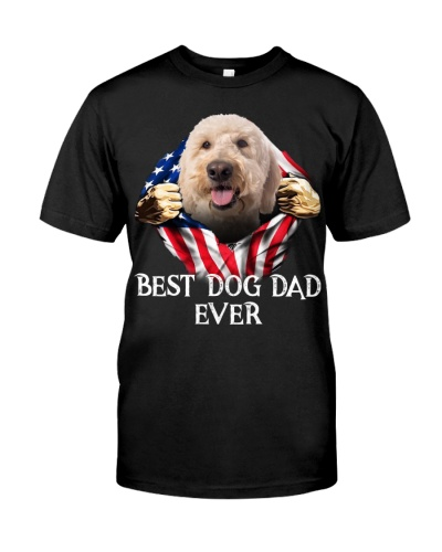 Goldendoodle-Dog Flag-Dad