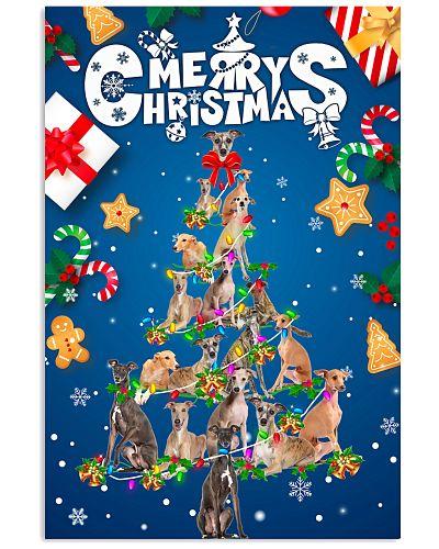 Greyhound-Merry Christmas