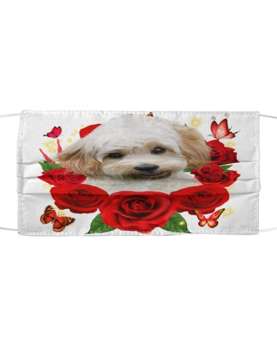 Cavachon-Face Mask-Rose