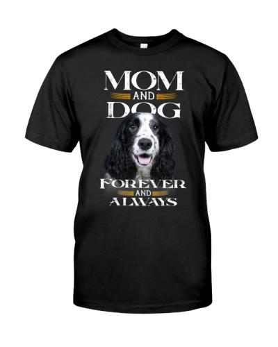 English Cocker Spaniel-Mom And Dog