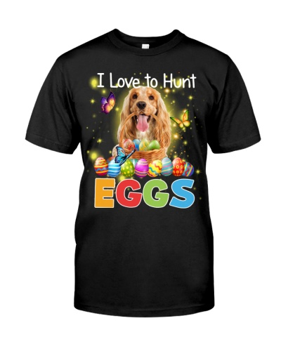 English Cocker Spaniel-Hunt Eggs