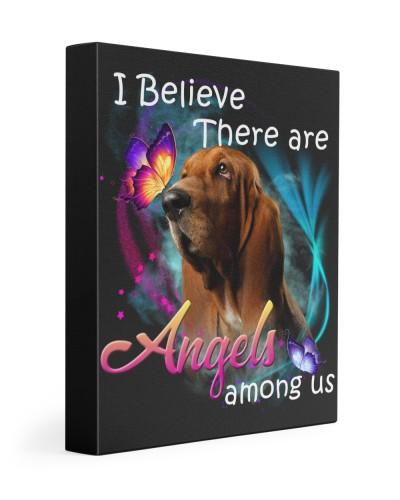 Basset Hound-02-Canvas Angels