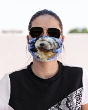 Lhasa Apso-Art-Blue Mask Cloth face mask aos-face-mask-lifestyle-02