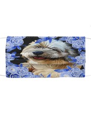Lhasa Apso-Art-Blue Mask Cloth face mask front