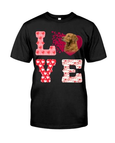 Golden Retriever-Love-Valentine